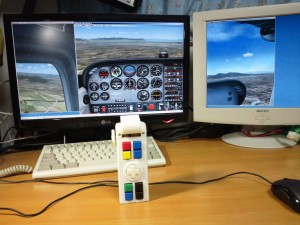 AcceraStick and FlightSimulator