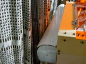 レーザー管カバー
